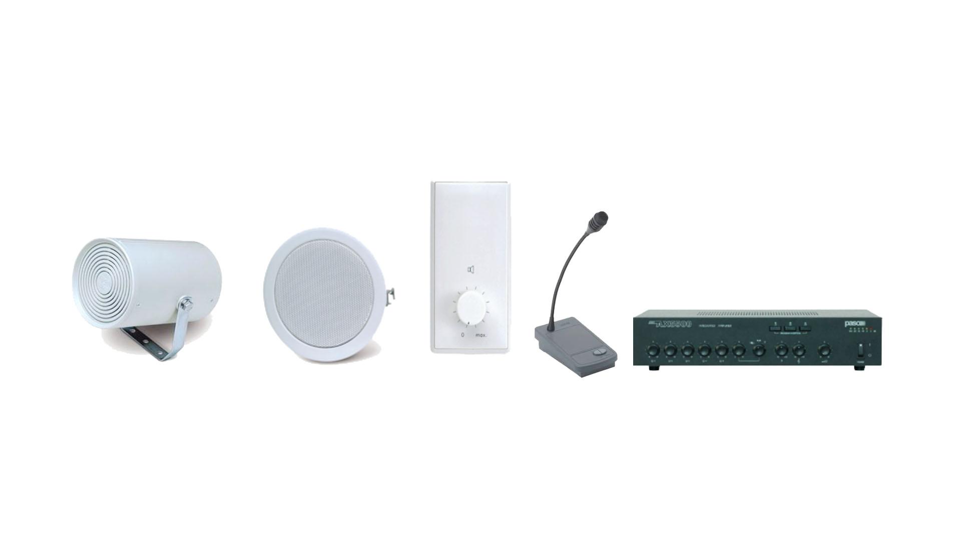 Geluidsinstallatie-elektrotechniek
